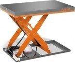 DOSTAWA GRATIS! 44340150 Hydrauliczny nożycowy stół podnośny Unicraft (udźwig: 1000 kg, wymiary platformy: 1300x800 mm, wysokość podnoszenia min/max: 190/1010 mm)