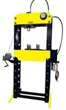 DOSTAWA GRATIS! 44358875 Prasa hydrauliczna, pneumatyka, ruchomy tłok, regulowany stół (siła nacisku: 40 T)