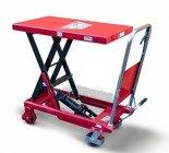 DOSTAWA GRATIS! 62666890 Wózek platformowy nożycowy (udźwig: 300 kg, wymiary platformy: 855x500 mm, wysokość podnoszenia min/max: 340-920 mm)