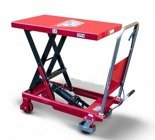 DOSTAWA GRATIS! 62666892 Wózek platformowy nożycowy (udźwig: 800 kg, wymiary platformy: 1000x510 mm, wysokość podnoszenia min/max: 420-1010 mm)