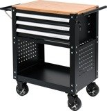 DOSTAWA GRATIS! 65669917 Wózek, szafka serwisowa z narzędziami, 3 szuflady, 162 narzędzia (wymiary: 90,5x68x45,5 cm)