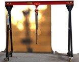 DOSTAWA GRATIS! 72571612 Wciągarka bramowa, łańcuchowa, suwnica, wciągnik (udźwig: 1T, wysokość: 2,5m, szerokość: 3m)