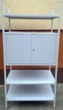 DOSTAWA GRATIS! 77156809 Regał metalowy, szafka, 3 półki (wymiary: 2000x900x600 mm)