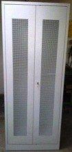 DOSTAWA GRATIS! 77157033 Szafa odzieżowa, 2 drzwi perforowane (wymiary: 2000x1000x500 mm)