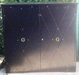 DOSTAWA GRATIS! 77157157 Szafa gazowa ozdobna, bez pleców i dna (wymiary: 1500x1500x500 mm)