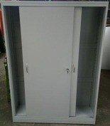 DOSTAWA GRATIS! 77157235 Szafa narzędziowa, drzwi przesuwane, 4 regulowane półki (wymiary: 2000x1300x500 mm)