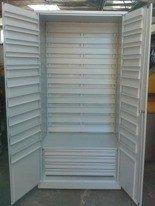 DOSTAWA GRATIS! 77157257 Szafa narzędziowa na pojemniki, 4 szuflady, bez pojemników (wymiary: 2000x900x500 mm)