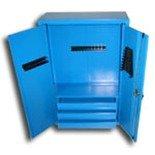 DOSTAWA GRATIS! 77170761 Szafa narzędziowa wisząca, 1 półka, 3 szufladki (wymiary: 1000x700x300 mm)
