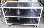 DOSTAWA GRATIS! 77170820 Wózek montażowy, 3 półki (wymiary: 1400x700 mm)
