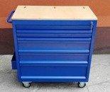 DOSTAWA GRATIS! 77170823 Wózek narzędziowy, 5 szuflad (wymiary: 900x900x500 mm)