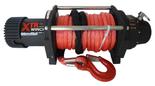 DOSTAWA GRATIS! 81874131 Wyciągarka XTR 13500lbs [6130kg] SPEED z liną syntetyczną czerwoną 12V (średnica liny: 10mm, długość liny: 28m)