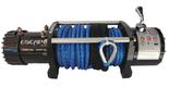 DOSTAWA GRATIS! 81874391 Wyciągarka 12000lbs 12,0X [5443kg] z liną syntetyczną 12V (średnica liny: 9,5mm, długość liny: 26m)
