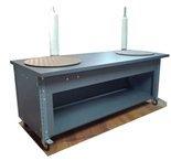 DOSTAWA GRATIS! 91073669 Stół na kółkach z dwoma kołami obrotowym (blat: 190x78 cm, wys: 78 cm)