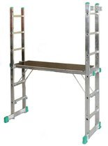 DOSTAWA GRATIS! 99675137 Podest rusztowanie drabinowe 4-funkcyjne DRABEX (wysokość robocza: 2,92m)