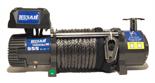 HUBER Wyciągarka Husar z liną syntetyczną 12V (uźwig: 10000lbs / 4536 kg, długość liny: 28m) 51971653