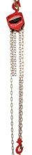 LIFERAIDA Wciągnik łańcuchowy ręczny (udźwig: 0,5 T, długość łańcucha: 3m) 03076061
