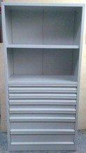 Regał narzędziowy, 7 szuflad, 2 półki (wymiary: 2000x970x500 mm) 77157227