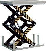 Stacjonarny stół podnośny (udźwig: 1000 kg, wymiary platformy: 1300x820mm, wysokość podnoszenia min/max: 305-1780 mm) 310558
