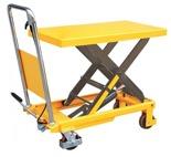 Stół podnośny nożycowy (udźwig: 500 kg, wymiary platformy: 855x500x50 mm, wysokość podnoszenia: 900 mm) 85068252