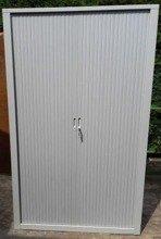 Szafa biurowa, drzwi żaluzjowe (wymiary: 2000x1000x450 mm) 77170730