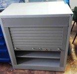 Szafa narzędziowa z żaluzją, 2 półki (wymiary: 920x800x500 mm) 77170785