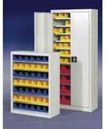 Szafa z plastikowymi pojemnikami, 42 sztuki (wymiary: 1000x800x440 mm) 77157187