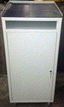 Szafka narzędziowa z pulpitem na kółkach, 1 półka regulowana (wymiary: 1200x500x500 mm) 77157240