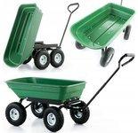 Taczka wózek ogrodowy transportowy wywrotka (udźwig: 350 kg) 99673983