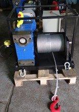 Treton Elektryczna wciągarka linowa z ramką (siła uciągu: 850 kg, długość liny: 30m, moc: 3kW 400V) 28872832