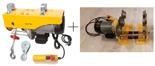 Treton Wyciągarka linowa elektryczna Industrial 500/990 230V, stare 1200 kg + wózek elektryczny 1T - szerokość belki dwuteownika do 220mm Bez UDT!!! 28868910