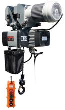 Wciągnik łańcuchowy elektryczny z wózkiem elektrycznym (udźwig: 0,5 T, wysokość podnoszenia: 35 m) 33978274