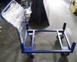 Wózek do palet (udźwig: 1000 kg, wymiary: 1200x800 mm) 77157389