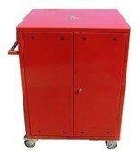 Wózek narzędziowy, 2 półki, 2 szuflady (wymiary: 1000x600x500 mm) 77157346