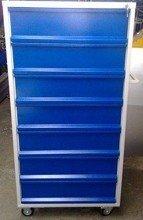 Wózek narzędziowy, 7 szuflad (wymiary: 1500x800x600 mm) 77157358