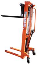 Wózek podnośnikowy masztowy z regulowanym rozstawem wideł (udźwig: 1000 kg, wysokość podnoszenia: 90-1600mm) 13362105