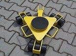 Wózek rotacyjny z płytą obrotową, rolki: 9x nylon (nośność: 3 T) 12258869