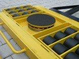 Wózek skrętny 18 rolkowy, rolki: 18x nylon (nośność: 14 T) 12235609