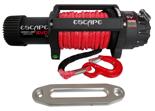 Wyciągarka Escape EVO 12500 lbs [5670 kg] IP68 z liną syntetyczną 12V (lina: 10 mm w oplocie 25m 10400 kg +hak) 81877751
