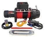 Wyciągarka XTR 17000lbs [7718 kg] z liną syntetyczną 12V (lina: 10 mm w oplocie z dużym hakiem 28m) 81877844