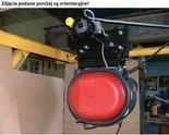 Wyciągarka elektryczna z elektrycznym wózkiem jezdnym na belce sterowanym z jednej kasety sterowniczej IPE200 400V (udźwig: 1000 kg, wysokość podnoszenia: 15m) 28876640