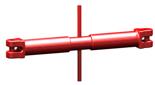 33916831 Napinacz łańcuchowy widełkowy KSS 10 (udźwig: 3,15 T, długość rozciągnięcia: 215 mm)