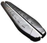 DOSTAWA GRATIS! 01655961 Stopnie boczne, czarne - Opel Vivaro 2001-2014 long (długość: 252 cm)