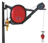 DOSTAWA GRATIS! 08115185 Wciągarka elektryczna linowa budowlana + lina 30m + sterowanie ręczne 1,5m (udźwig: 325 kg)