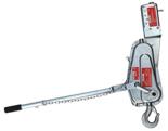 DOSTAWA GRATIS! 08126657 Wciągarka linowa, rukcug z urządzeniem zabezpieczające wciągarkę, bez liny (udźwig: 500 kg)