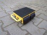 DOSTAWA GRATIS! 12235589 Wózek stały 4 rolkowy, rolki: 4x nylon (nośność: 4 T)