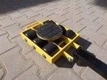 DOSTAWA GRATIS! 12267428 Wózek skrętny 6 rolkowy, rolki: 6x nylon (nośność: 6 T)