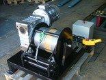 DOSTAWA GRATIS! 28870067 Elektryczna wciągarka z liną o średnicy 8mm (długość liny: 85m, siła uciągu: 1600 kg, moc: 5,5kW 400V)