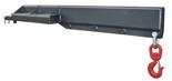 DOSTAWA GRATIS! 29068924 Wysięgnik z hakiem na widły (udźwig: 1500 kg, wysięg: 500mm) 5 położeń wysięgnika, minimalny udźwig 650 kg.