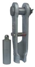 DOSTAWA GRATIS! 33948529 Złącze klinowe zakuwane SCS 25 (udźwig: 5 T, średnica liny: 13-16 mm)