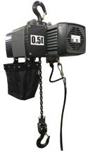 DOSTAWA GRATIS! 33961597 Wciągnik łańcuchowy elektryczny ENW 0,5 (udźwig: 0,5 T, wysokość podnoszenia: 3 m)